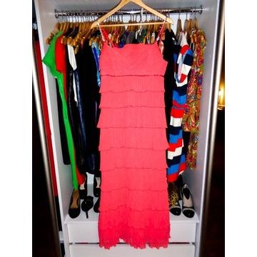 ESCADA przepiękna wieczorowa suknia D36