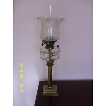 LAMPA NAFTOWA HINKSA PRZEPIĘKNY TULIPAN LS-33