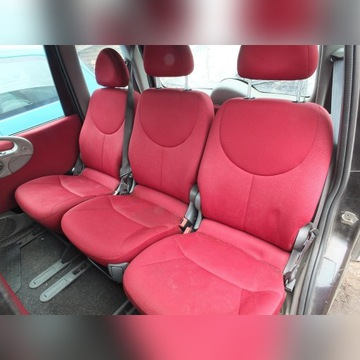 Fotele tylne, Fiat Multipla