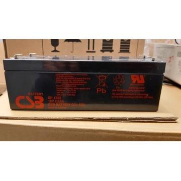 Akumulator żelowy CSB Battery GP1222 2.2Ah/12V