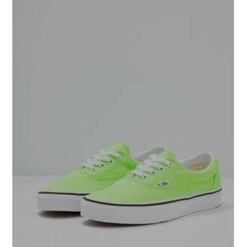 Vans ERA - Sneakersy niskie (Green Zielone/Neon)