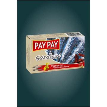 Sardynki pikantne z papryką Pay Pay hiszpańskie
