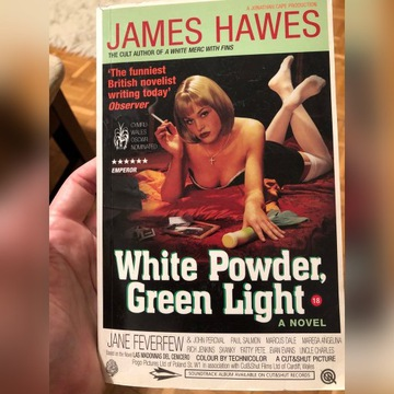 James Hawes - white powder, green Light