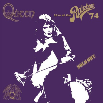 QUEEN - LIVE AT THE RAINBOW' 74  / BOX /