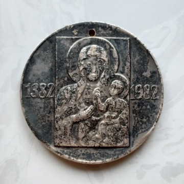 Medal Sześćset Lat Klasztoru Jasnogórskiego