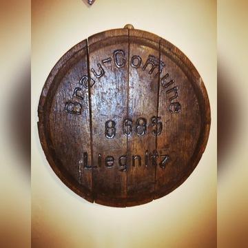 Dekiel od beczki piwa Brau Comune Liegnitz