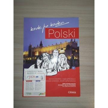 Polski krok po kroku (A1) Podręcznik + CD MP3