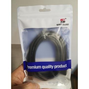 Kabel przewód USB A-C do Oculus Quest Link 3m