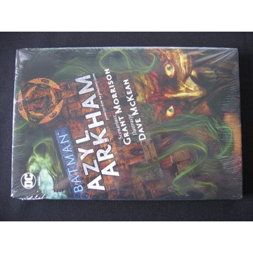 BATMAN Azyl Arkham DC Deluxe NOWY w folii