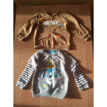 Sweterki dziecięce rozmiar 86 - 9 sztuk