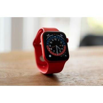 Apple Watch 6 44mm Czerwony z gwarancją