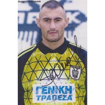 Grzegorz Szamotulski (Legia) AUTOGRAF
