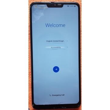 Wyświetlacz z ramką LG G7 Thinq Blue