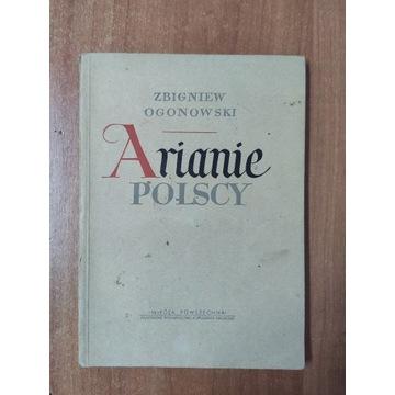 Arianie polscy Zbigniew Ogonowski 1952