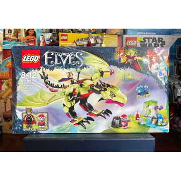 Lego Elves 41183 Smok Króla Goblinow