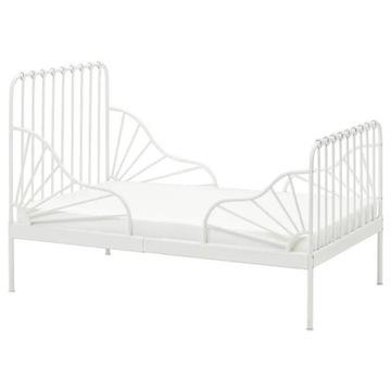 IKEA Rama łóżka dziecięcego Minnen biała