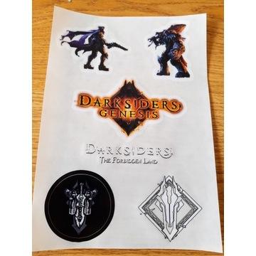 Darksiders Genesis PS4 Xbox One PC Naklejki nowy