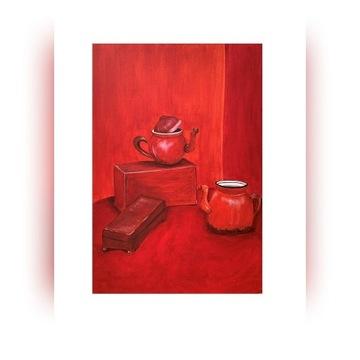 Obraz Red Monochrome