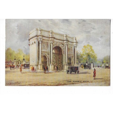 #T08 Londyn - Marble Arch. Tuck. Oilette