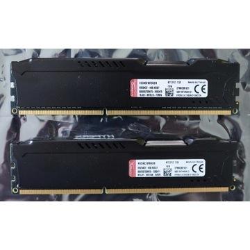 HyperX 8GB - DDR3 1600 MHz (2x4GB), HX316C10FBK2/8