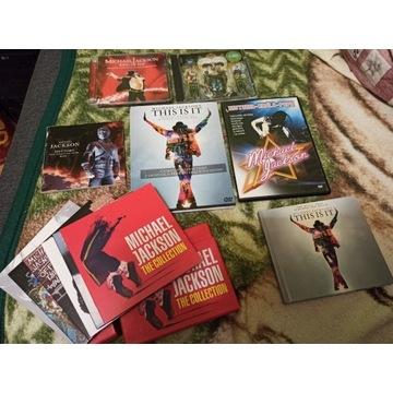 Michael Jackson - Kolekcja płyt - dla fana ! :)