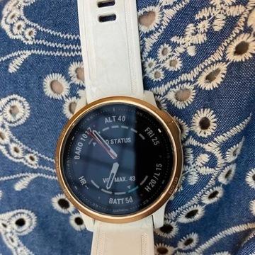 Zegarek Garmin 6s PRO różowo-złoty - STAN IDEALNY