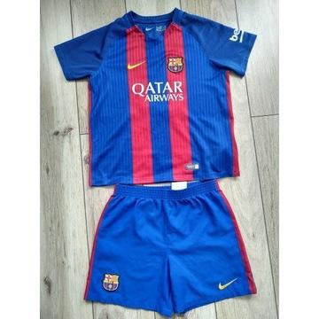 Strój dziecięcy Nike Barcelona Messi rozm.128