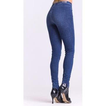 Jeansy dżinsy jegginsy GUESS S/M skinny push up 27