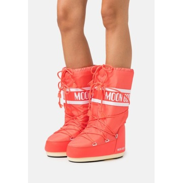 MOON BOOT ICON ŚNIEGOWCE NOWE CORAL 39-41