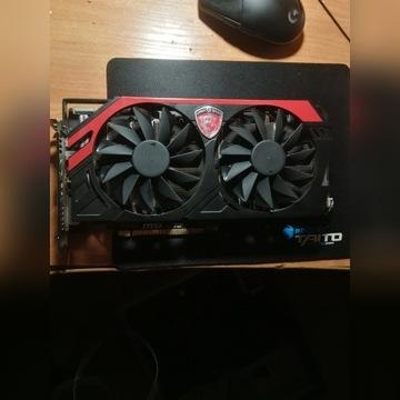 Uszkodzona karta graficzna msi Radeon r9 280x 3gb
