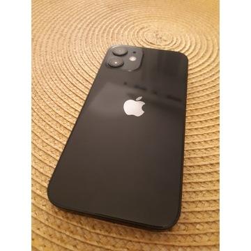 Smartfon Apple Iphone 12 mini 128GB black BRAK RYS