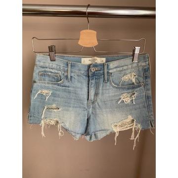 Spodenki jeansowe Abercrombie & Fitch rozm. XS
