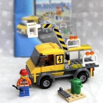 Klocki Lego zestaw 3179 samochód naprawczy instruk