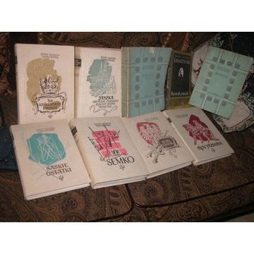 kolekcja książek Józef Ignacy Kraszewski 9 sztuk