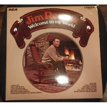 Winyl Jim Reeves, WELCOME TO MY WORLD