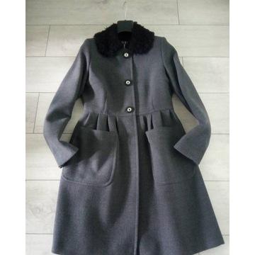 Ekskluzywny Płaszcz SIMPLE Szary zara