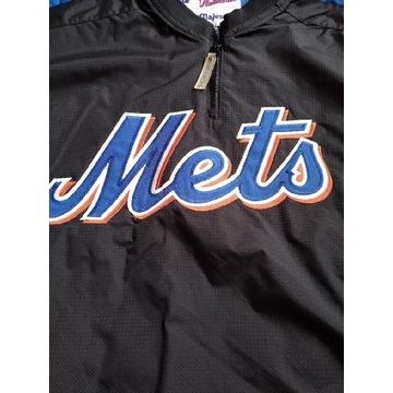 Bluza kurtka bejsbolówka Mets Majestic  rozmiar L