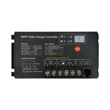 Regulator ładowania Mppt 10A 12V/24V
