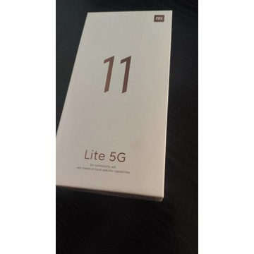 Smartfon Xiaomi Mi 11 Lite 5G 6/128GB Black NFC