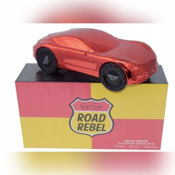 ROAD REBEL RED PERFUMY SAMOCHÓD 4X25ml TIVERTON