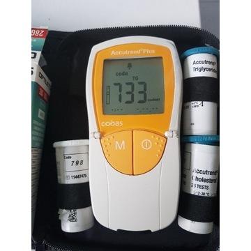 Aparat Accutrend plus Roche glukometr cholesterol