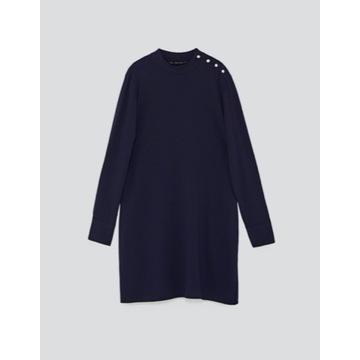koszulowa sukienka Zara Woman 34 36