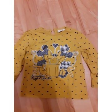 Disney minnie bluzeczka rozmiar 86 cm