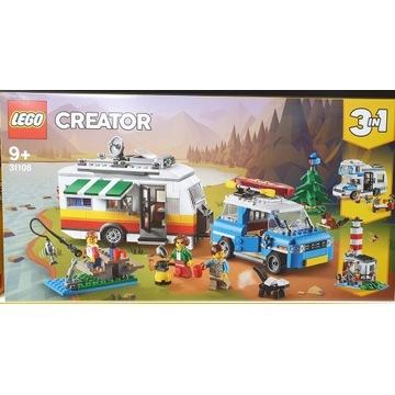 LEGO CREATOR 31108 Wakacyjny kemping z rodziną