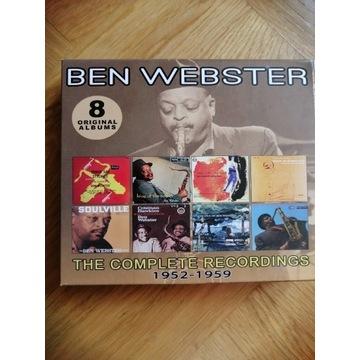 Ben Webster. 8 originals Albums. 1952-1959