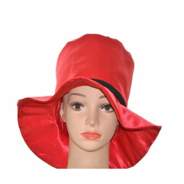 Kapelusz czerwony kapelusz urodziny kapelusz klaun