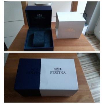 Pudełko na zegarek FESTINA Oryginalne - NOWE