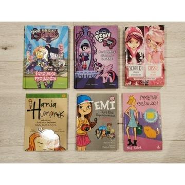 Książki dla dziewczynek * My Little Pony * 6 szt.