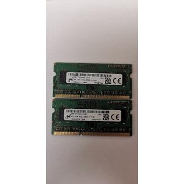 Pamięć RAM do laptopów(SO-DIMM).MICRON 8GB DDR3L