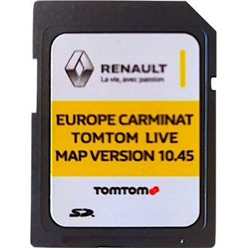 Mapy Renault Carminat Live 2020 10.45 Europa PL